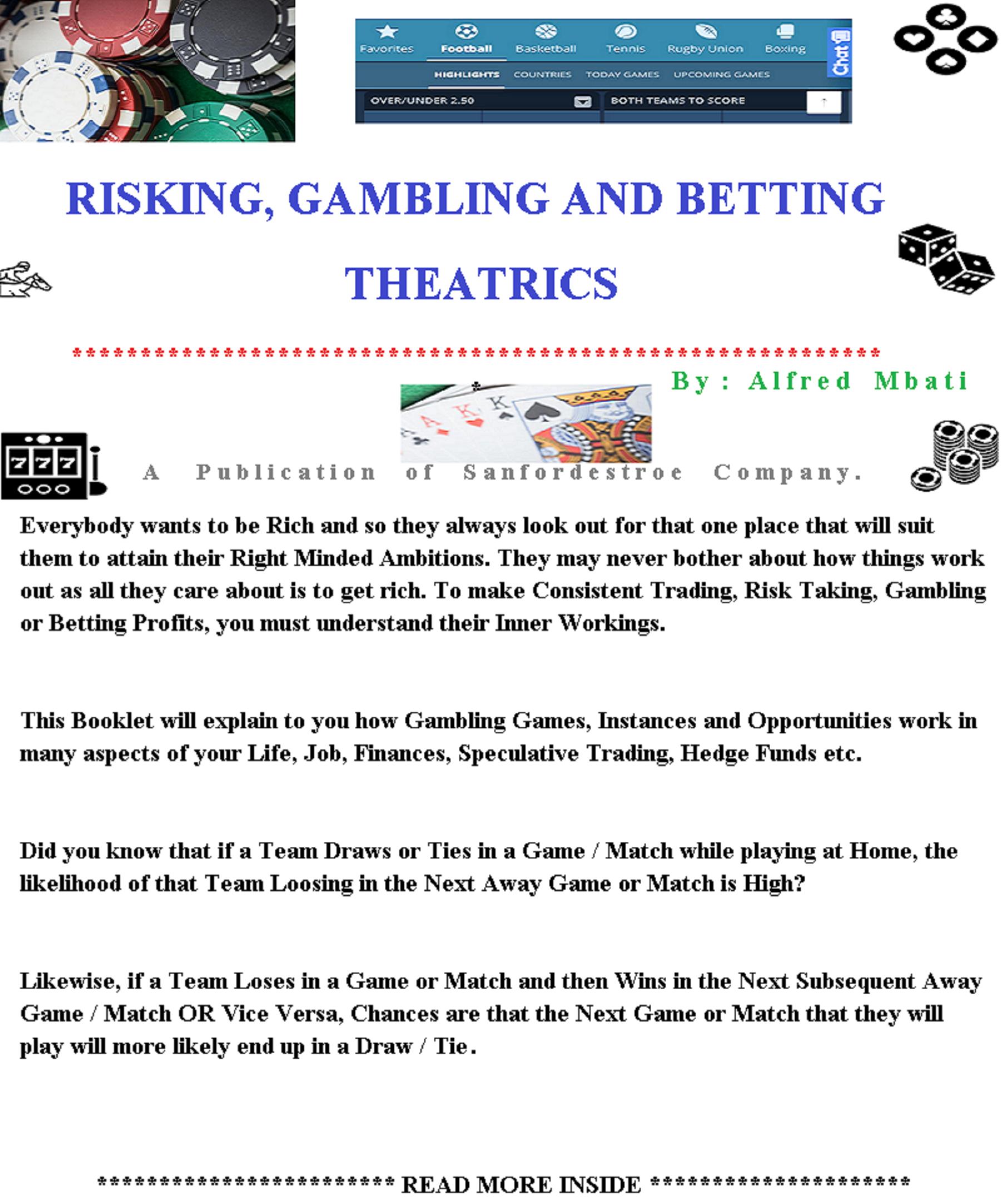 Gambling and betting activities director pick 5 horse betting